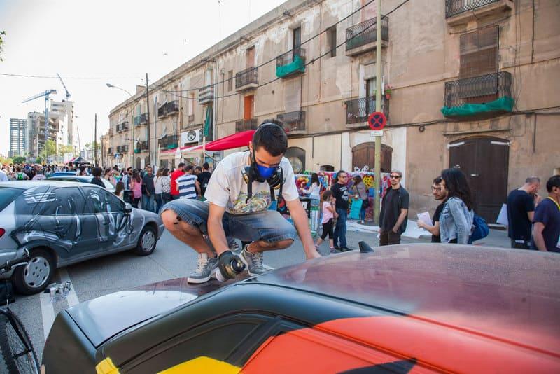 festival de arte urbano barcelona rebobinart poblenou usbarcelona