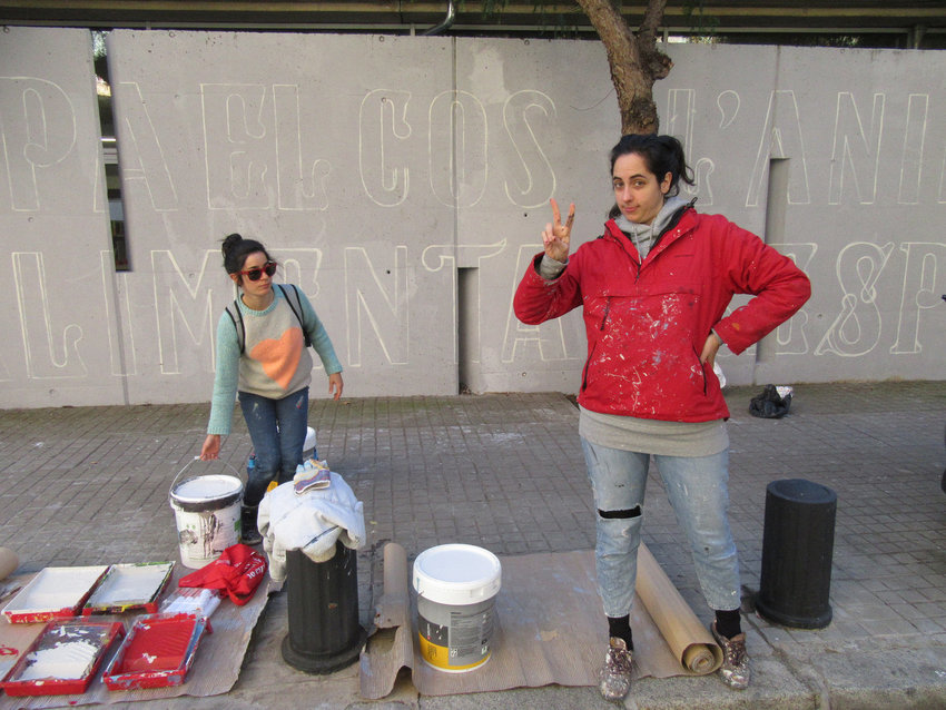 Street art Amaia Arrazola y Reskate