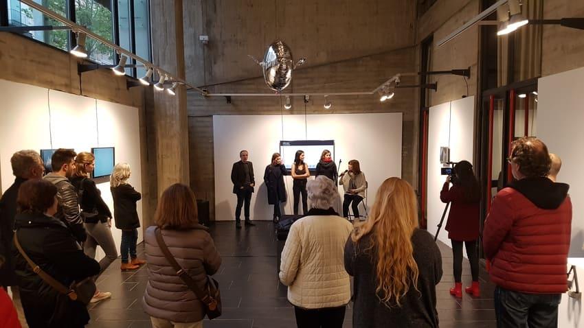 Entrevista Monica Rikic Instal.lació al Museu de Granollers per Womart
