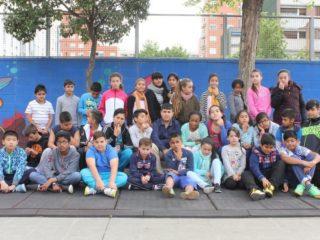 Taller en la escuela Concepció Arenal