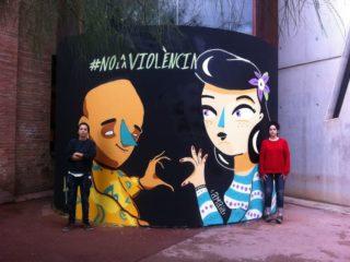 Contra la violència vers les dones