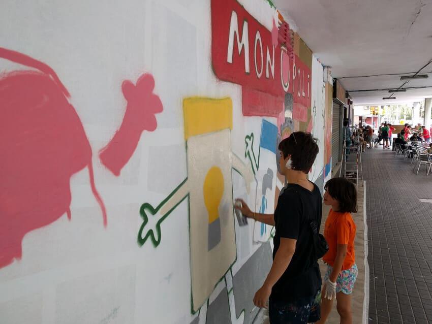 Mural Contra la Pobresa Energètica