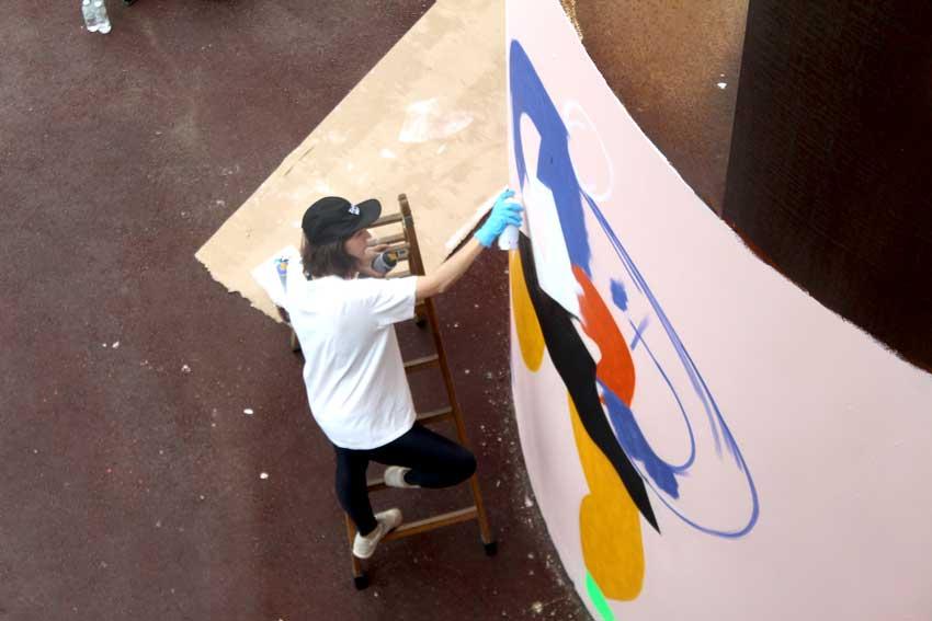 Emily Eldridge WALLSPOT arte urbano Barcelona (2)