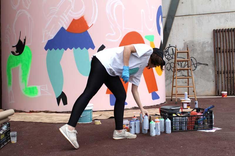 Emily Eldridge WALLSPOT arte urbano Barcelona (3)
