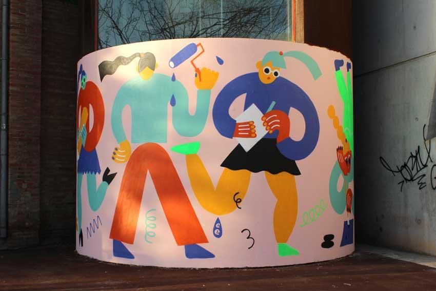 Emily Eldridge WALLSPOT arte urbano Barcelona (5)