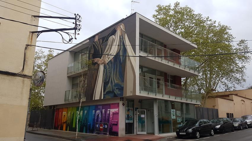 HYURO WOMART REBOBINART streetart reus (2)