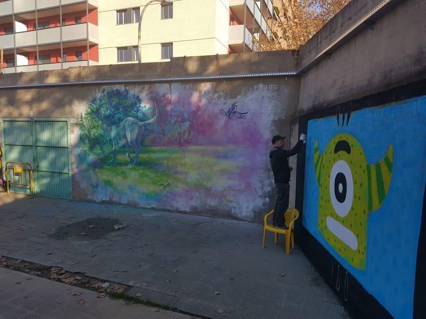 Muros libres Sant Andreu