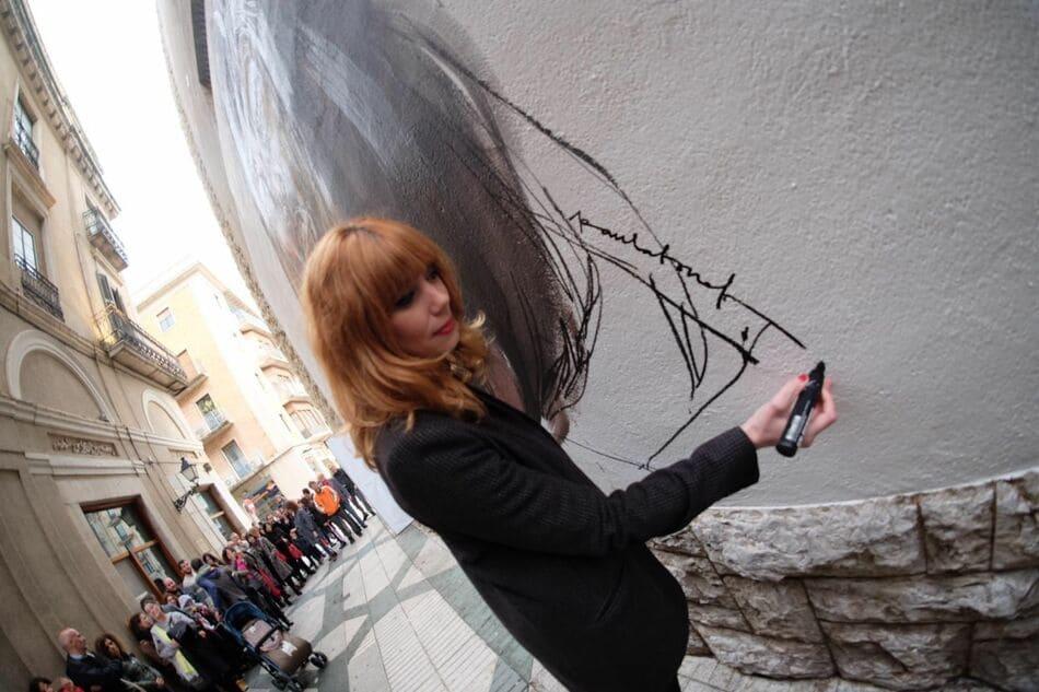 Paula Bonet – rebobinart – art urbà – womart (1)