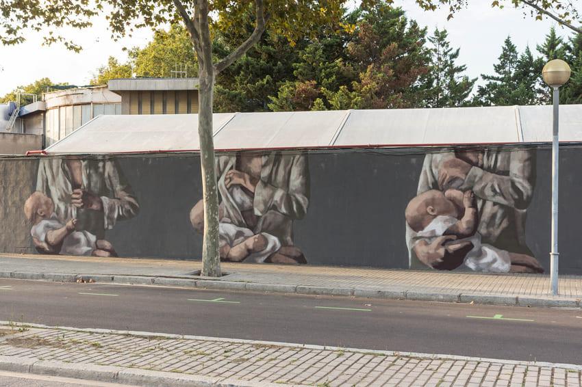 Transit Walls mural de HYURO