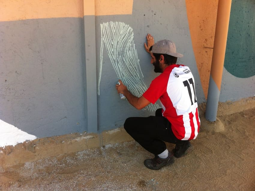 casa de la cultura sant cugat rebobinart art urbà (3)