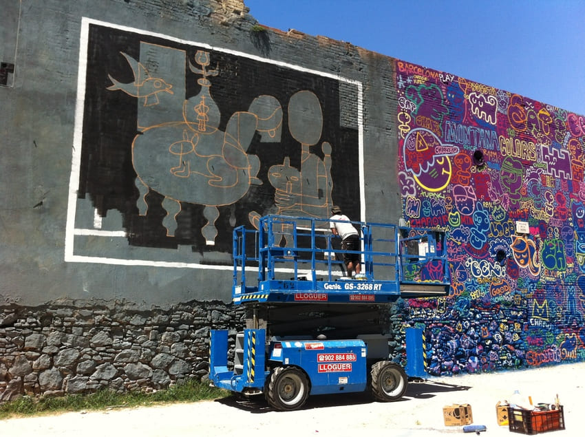 ibie graffiti barcelona rebobinart big walls (2)