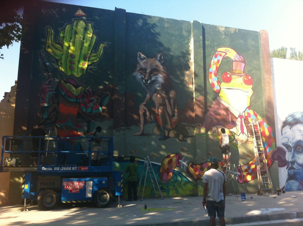 murs lliures poblenou wallspot graffiti art urbà rebobinart (1)