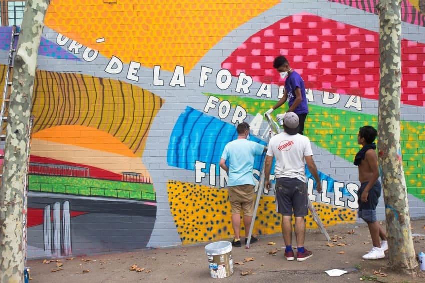 Taller de arte urbano en Barcelona