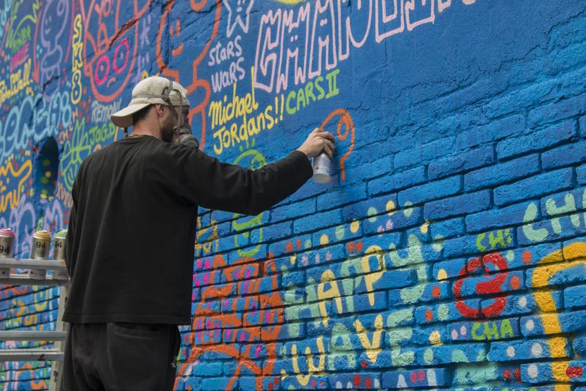xupet y chanoir graffiti barcelona (3)