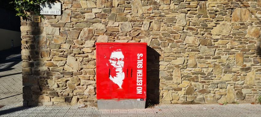 No Estem Sols Intervenció_Octavi Serra_Rebobinart 3