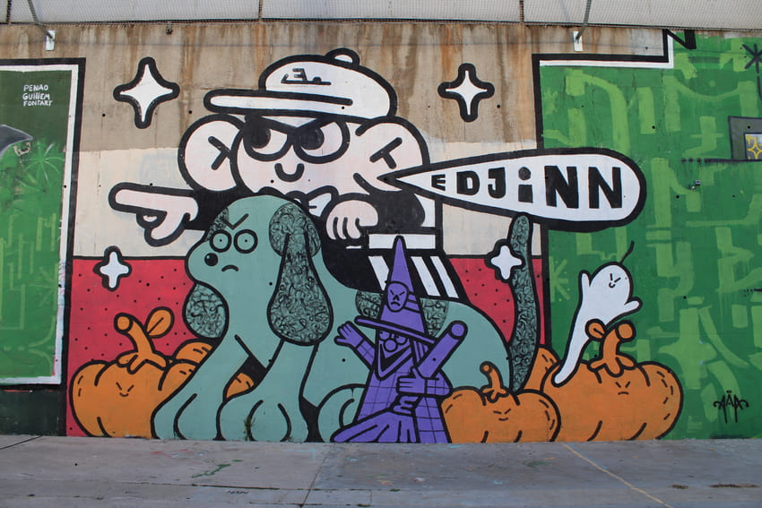 block jam wallspot Edjinn