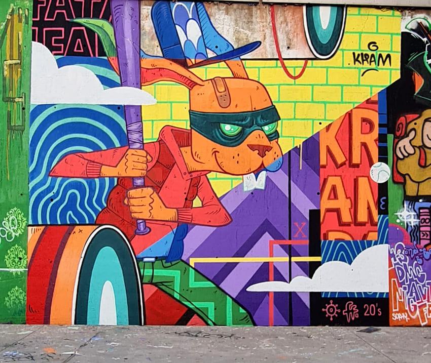 block jam wallspot KRAM