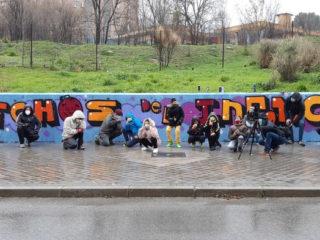 Taller de graffiti a Moratalaz