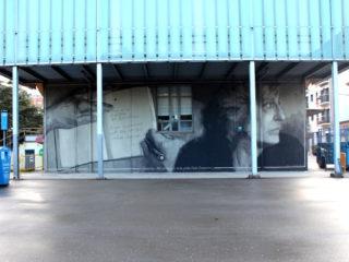 Mural for Marta Pessarrodona by Elisa Capdevila