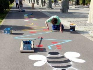 Intervenció artística a Santa Maria de Palautordera