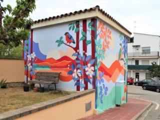 Intervención Artística en Palautordera by Silvia Ospina