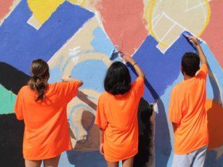 Taller de Arte Urbano en el Centre Socioeducatiu Poblenou