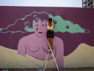 Live Painting Kronos Art BCN