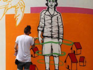 WALL CLAIM by Santiago Elefante