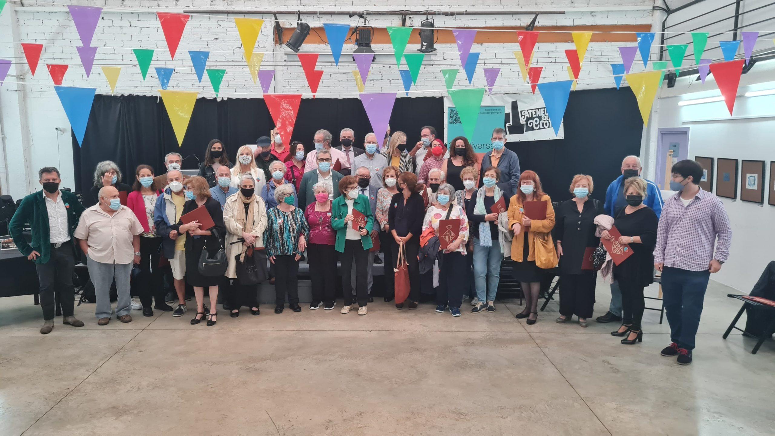 foto de grupo del consell de la gent gran