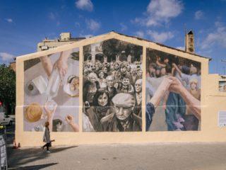 Mural de la Gente Mayor by Elisa Capdevila i Miquel Wert